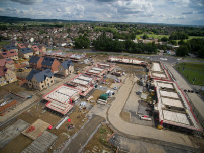 Buxted Construction Aerial SLH 1