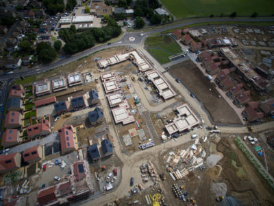 Buxted Construction Aerial SLH 17