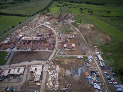 Buxted Construction Aerial SLH 18