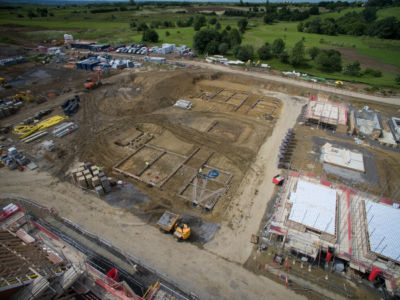 Buxted Construction Aerial SLH 6