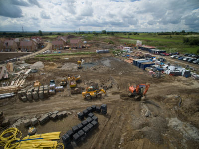 Buxted Construction Aerial SLH 9